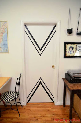 Diy Chevron Doors
