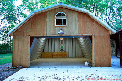 Steel buildings are easy to assemble