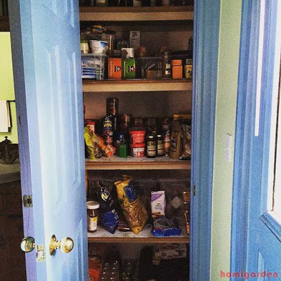Pantry is clean, organized - How to Organize a Kitchen Pantry