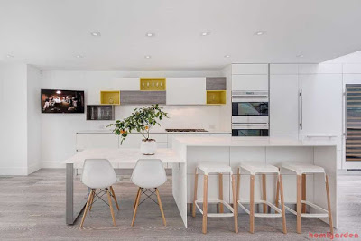 Simple and minimalist kitchen design inspiration (Tips for Kitchen Design Layout)