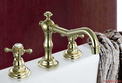 Double-handle faucets