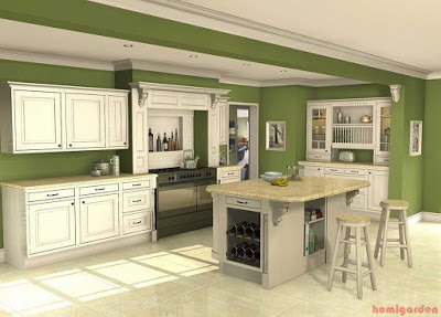Image of Green Kitchen Design Inspiration, Top 7 Essential Tips for Kitchen Design Layout