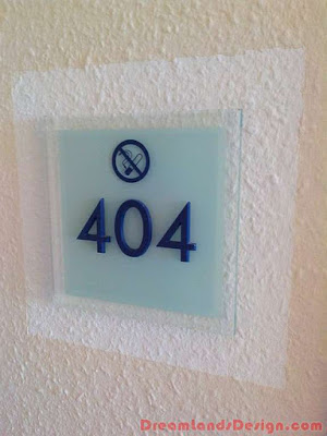 High Usability of Acrylic House Signs