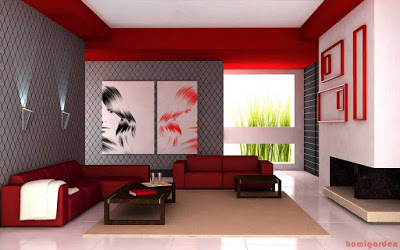 Color Schemes for Living Rooms with Red Couch