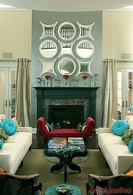Color Schemes for Living Rooms with Fireplaces