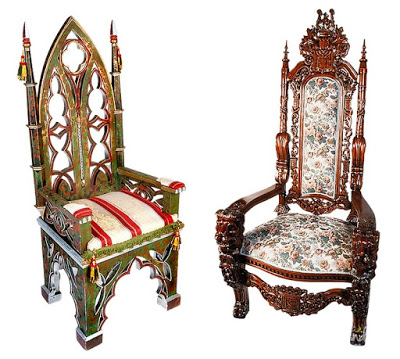 Attractive Appearance Gothic Chairs