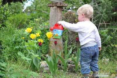 Let Your Kids Get Their Little Hands Dirty