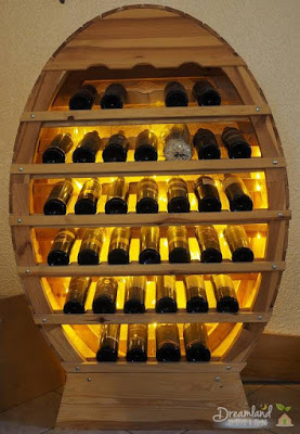 Presenting Racks For Wine Bottles