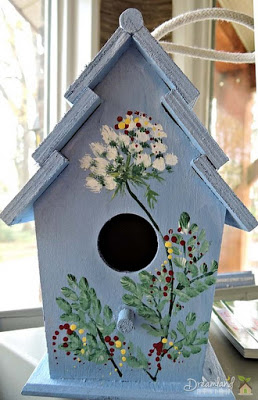 IMG Painting Your Wooden Bird Houses - How to Paint a Wooden Birdhouse