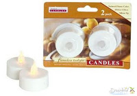 Pic of Battery operated candle for DIY Candle Party Favors