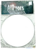 Picture of round glass mirror for DIY Candle Party Favors