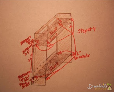Pic of Step 4 for DIY TV Stand Ideas