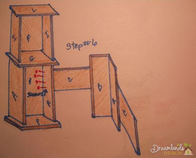 Pic of Step 6 to Build Your Own Computer Desk Plans