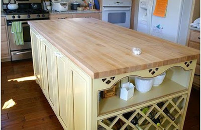 Unoiled Countertop Images - Cool wood projects
