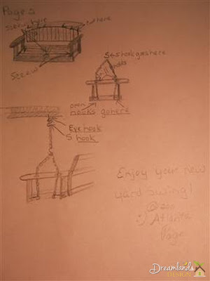 Pic of Build Your Own Porch Swing for Your Front Yard Landscape Design Free Plans - Page 2