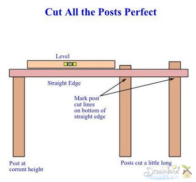 Cut Perfect Posts