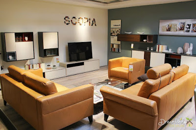 Image of Orange Sofa Interior Design, Decorating a Home with an Orange Sofa