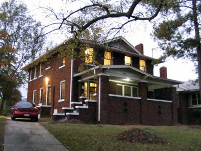American Foursquare - Craftsman Style House