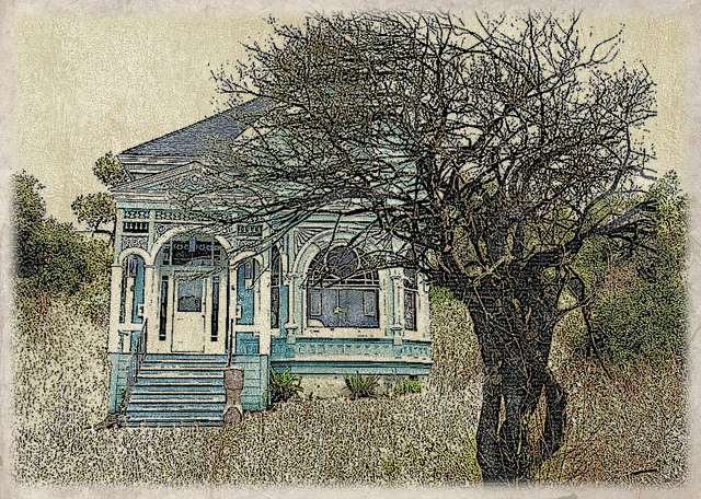 Pic of Abandoned - Authentic Victorian House Colors, Painting a Victorian House Exterior