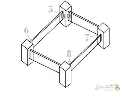 Images of Attaching Rails - How to Build a Wooden Bed Frame Step by Step, DIY Bed Frame Ideas