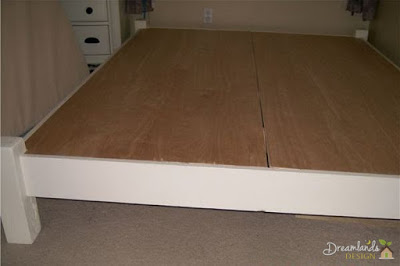 Pic of All four corners - diy bed frame ideas